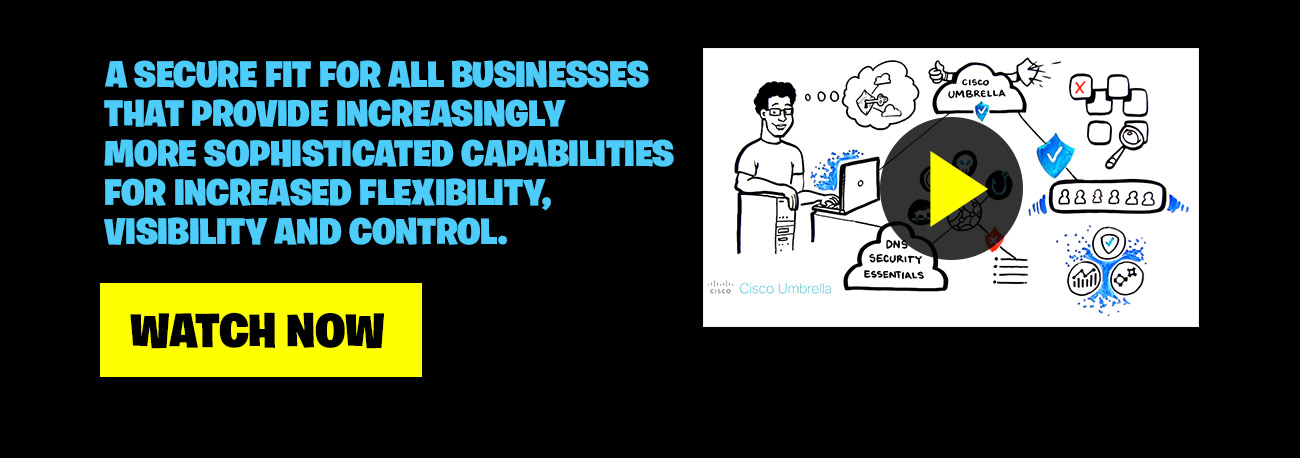 A secure fit for all businesses that provide increasingly more sophisticated capabilities for increased flexibility, visibility and control. Watch Now
