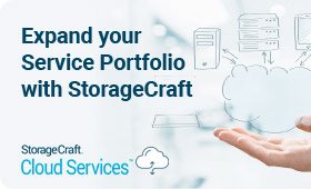 Expand your Service Portfolio with StorageCraft